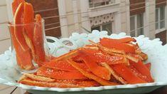 Portakal Kabuğu Şekerlemesi Orange Shell Candy Portakal kabuğu tatlısı portakallı tatlılar