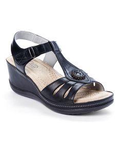 Black Fabia Sandal