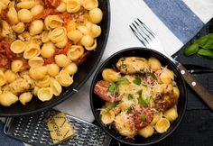 8 nagyon finom csirkés tészta 30 percen belül | NOSALTY Tortellini, Penne, Menu Planning, Food And Drink, Healthy Recipes, Healthy Foods, Tasty, Meat, Chicken