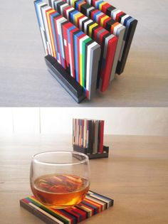 Some of these lego lifehacks are awesome! I would love to spend a whole weekend building that lego bar ;-) but let's start with the coasters..