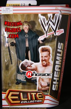 RINGSIDE COLLECTIBLES WWE Toys, Wrestling Action Figures, Jakks Pacific, Classic Superstars Action F: KING SHEAMUSELITE 13WWE Toy Wrestling Action Figure Figuras Wwe, Acton Figure, Wwe Game, Wwe Sasha Banks, Ready To Rumble, Wwe Toys, Wwe Action Figures, Wwe Elite, Sheamus