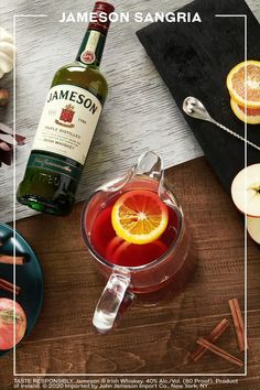 Bar Drinks, Cocktail Drinks, Yummy Drinks, Cocktail Recipes, Alcoholic Drinks, Yummy Food, Fall Cocktails, Beverages, Christmas Drinks