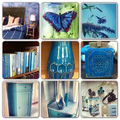 Wat doet de kleur blauw in je interieur? via www.stijlidee.nl