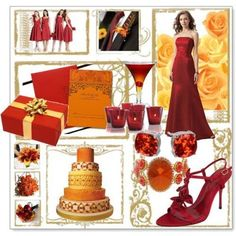 orange and red wedding colors | ... ... colors first! | Weddings, Planning | Wedding Forums | WeddingWire