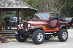 1985 Jeep CJ7 - Please Please Follow this Link to See More Photos! You Will Not Be Disappointed!!! http://www.selectjeeps.com/inventory/view/8211593/1985-Jeep-CJ-4WD-CJ7-League-City-TX