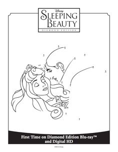 Sleeping Beauty Connect the Dots | Sleeping Beauty Diamond Edition ...