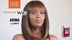 MODEL MODEL PREMIUM WIG (ADINA) Wigs, Model, Color, Hair Wigs, Scale Model, Colour, Colors, Template