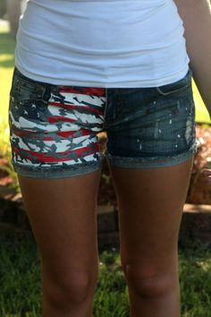 Off the Racks Boutique - All American Girl Shorts Country Girl Style, Country Fashion, Country Outfits, Country Girls, My Style, Aeropostale, Vs Pink, Hollister, Miss Me