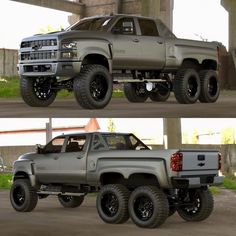 Jeep Wrangler Discover Finally: A Chevy Silverado That Kind of Looks Like a Hummer Finally: A Chevy Silverado That Kind of Looks Like a Hummer Gmc Trucks, 6x6 Truck, Lifted Chevy Trucks, Chevrolet Trucks, Cool Trucks, Pickup Trucks, Chevy Diesel Trucks, Jeep Pickup, Lifted Ford