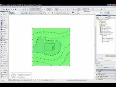 ArchiCAD Tip: Terrain Modelling - YouTube