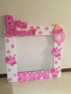 Carteles foto baby shower