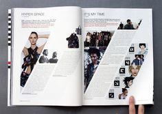 WAD Magazine issue 45 by FLOZ , via Behance