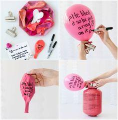 Dekorieren Sie so viele Luftballons, wie Sie möchten