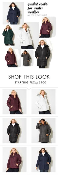 """""""Quilted Coats"""" by avenue365 on Polyvore featuring Avenue"""