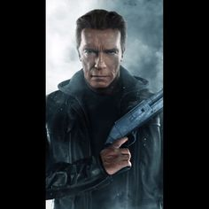 He's back to reset the future. #Terminator Genisys is in theaters July 1st. #HeIsBack #3D #Movies