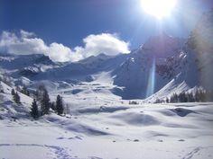 Neve nel Parco del Gran Paradiso