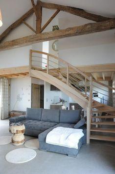 Location Gîte Saint-forgeux-lespinasse dans LE ROANNAIS - Gîtes de France Loire Gite Rural, Location Gite, House Stairs, Dream Apartment, Wooden House, House Plans, Sweet Home, New Homes, Interior Design