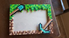 Minecraft Perler Frame by QueLindaDesigns on Etsy                                                                                                                                                                                 More