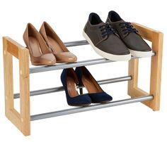 Robusto plástico estante de zapatos 3 pisos estante zapatos zapato archivador ampliable gra