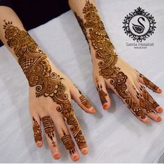 Mehndi Designs Front Hand, Mehndi Designs For Girls, Stylish Mehndi Designs, Mehndi Designs For Beginners, Dulhan Mehndi Designs, Mehndi Design Pictures, Wedding Mehndi Designs, Mehndi Designs For Fingers, Beautiful Henna Designs
