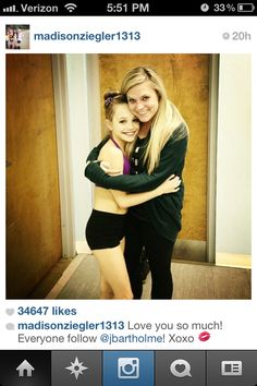 Maddie I am pretty sure that is her official Instagram