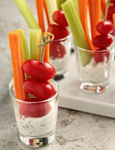 7 Finger Food Ideas for Your Next Party – Bright Ideas                                                                                                                                                                                 More