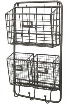 Metal Mail Rack from Home  Decorators
