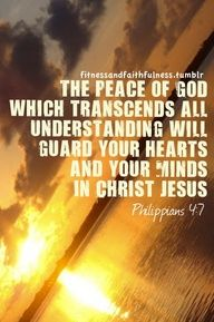 Instead pray about everything. Then the peace of God which transcends all understanding will guard your heart and your mind in Christ Jesus. Favorite Bible Verses, Bible Verses Quotes, Faith Quotes, Scriptures, Peace Of God, Word Of God, Guard Your Heart, Christian Life, Gods Love