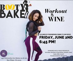 Booty Bake Event tomorrow at 6:45pm! Don't miss out on this fun event with wine and prizes! Non-members $25 ALF members $20use promo code: bootybake20 Proceeds of raffle will be donated to Movemeant Foundation