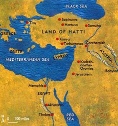 Hittite Empire Map and Info, CC Cycle 1, Week 4