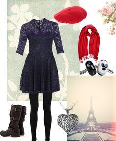 """Paris is Always a Good Idea"" by panda-bear-hugs on Polyvore"