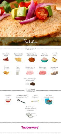 ¿Conoces las  Pacholas? Prepáralas fácil y deliciosas con ayuda de Tupperware. #Recetas #Cocina #Tupperware