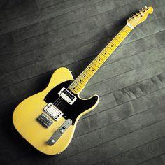 "Fender Telecaster ""Jeff Beck Model""(通称テレギブ)──別にジェフ・ベックのファンというわけではありませんが。。。 #fender #guitar"