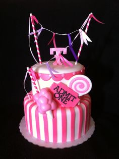 carnival cake | my carnival themed cake is actually one of my favorites to date so ...