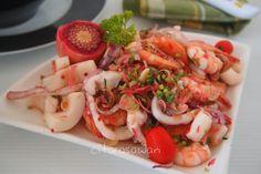 Recipes today - Kerabu Makanan Laut Ala Thai