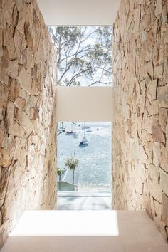 Drawing inspiration from nature, Koichi Takada Architects have designed a waterfront property that gives a nod to tropical resort living. Architecture Design, Sustainable Architecture, Ancient Architecture, Landscape Architecture, Future House, My House, Weatherboard House, Outdoor Stone, Ferrat