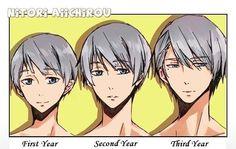 Free! Iwatobi Swim Club... in some ways, he looks like Usagi from jonjou…