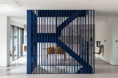 Le studio d'architecture RA Projects a rénové une maison dans le centre de Londres appartenant à la couturière Roksanda Ilincic. L'idée clé du projet était