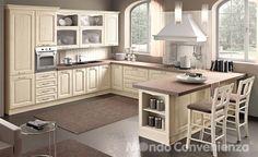 Lucrezia - Cucine - Classico - @Mondo Convenienza