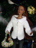 Chez Lucy: Cardigan drapé pour Tyler et Barbie