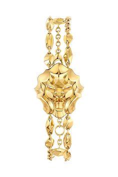 Chanel gold bracelet - Sous le Signe Du lion collection