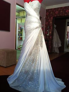 Wedding dress by Carmen Couture