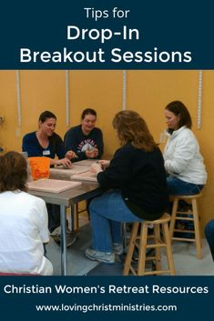 Make everyone happy at your next Christian women's retreat using these tips for scheduling and planning drop-in breakout sessions. #womensministry #christianwomen Small Group Activities, Bonding Activities, Christian Women's Ministry, Christian Retreat, Teaching Posts, Women's Retreat, Retreat Ideas, Strong Faith, Christian Resources