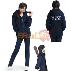 The Lost Tomb Kylin Zhang Blackish Blue Hoodie Coat Jacket Costume on sale. Welcome to buy our cosplay costume for Halloween Party, animation expo, art photo taking, etc.