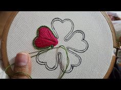 Embroidery Designs Amazing Hand Embroidery Beautiful idea Flower All over Embroidery Design - Hand Embroidery Flower Designs, Hand Embroidery Videos, Embroidery Hoop Crafts, Embroidery Flowers Pattern, Hand Embroidery Stitches, Embroidery Techniques, Ribbon Embroidery, Beaded Embroidery, Beginner Embroidery