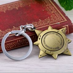 Julie Game Series Wow World of Warcraft Hearthstone Heroes Metal Keychain For Fans Cool Keyring Jewelry Accessory Dropshipping