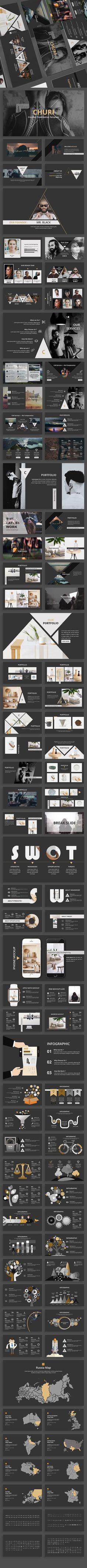 Churi Creative Powerpoint Template - Creative PowerPoint Templates
