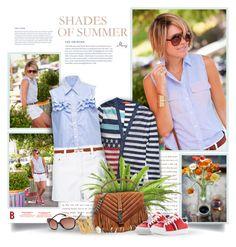 """Shades Of Summer"" by thewondersoffashion ❤ liked on Polyvore featuring Tommy Hilfiger, Miu Miu, rag & bone/JEAN, Yves Saint Laurent, Sylvia Toledano, blogger, saintlaurent, miumiu, ragandbone and tommyhilfiger"