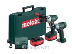 METABO Power Tool Batteries, Chargers, Drils