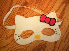 Hello kitty printable template free for Hello kitty mask template